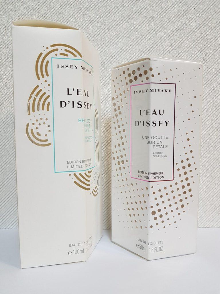 Etuis de parfums Issey Miyake
