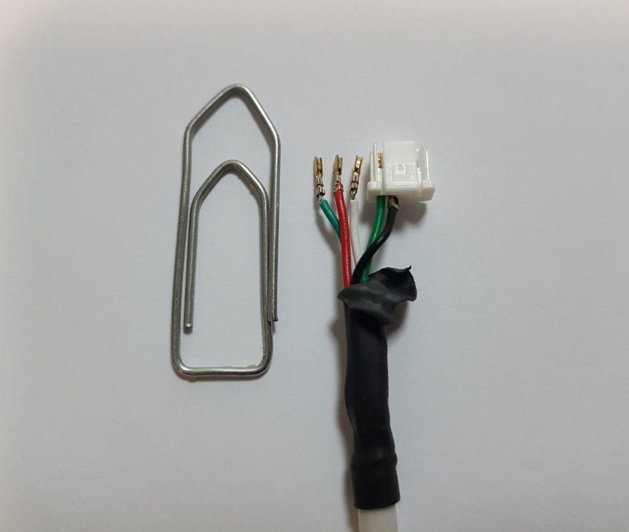 Faisceau électrique miniature pour caméra hépatique
