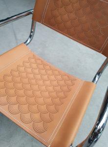 habillage chaise cuir